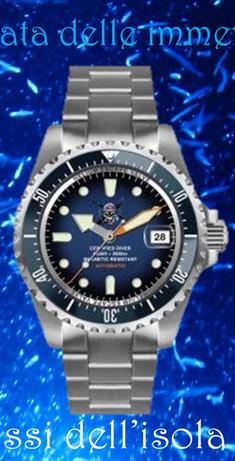 Orologio Il pirata delle immersioni 17