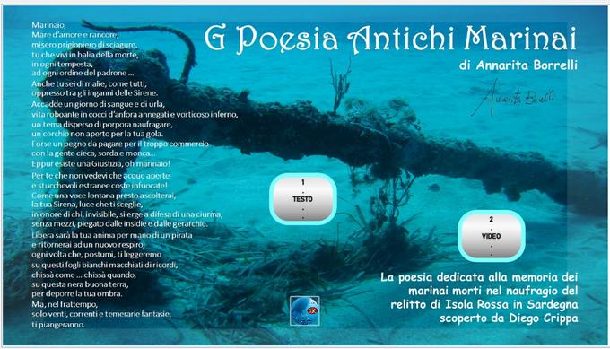 L'ABC ICON il catalogo Poesia Antichi Marinai di Annarita Borrelli