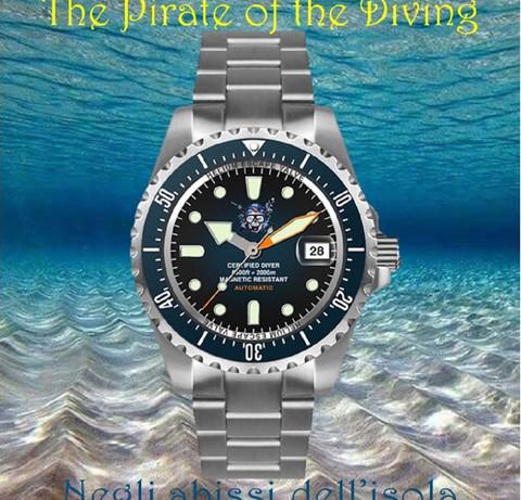 Orologio Il pirata delle immersioni 16