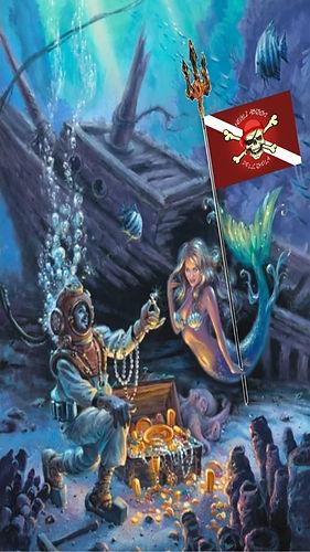 Il pirata delle immersioni e la sirena 1