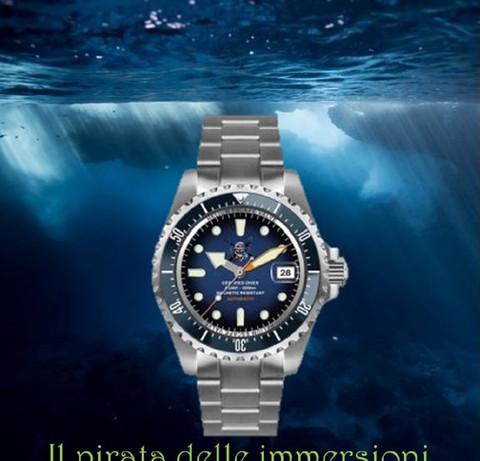 Orologio Il pirata delle immersioni 8