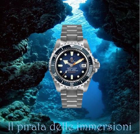 Orologio Il pirata delle immersioni 4