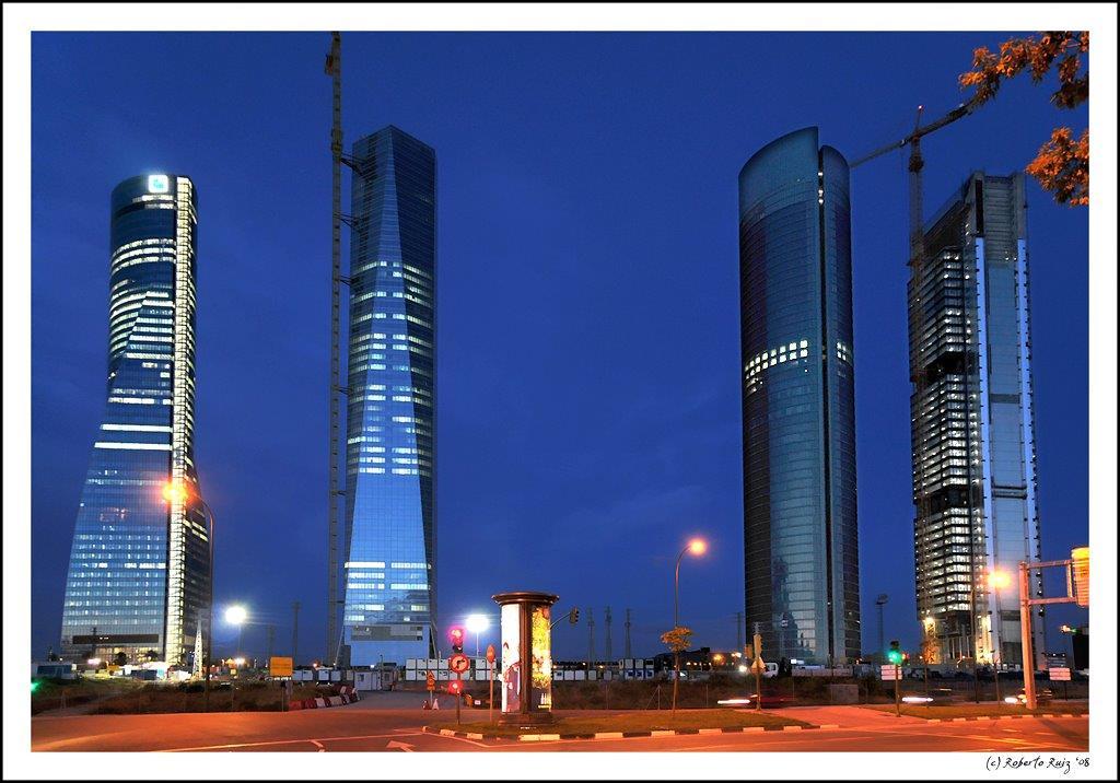 Madrid Torre de Crystal - Ispanya