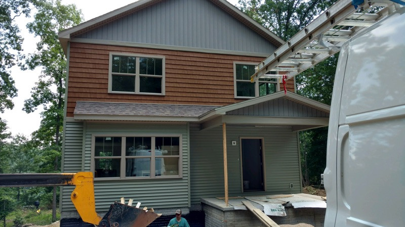 Custom Siding Design