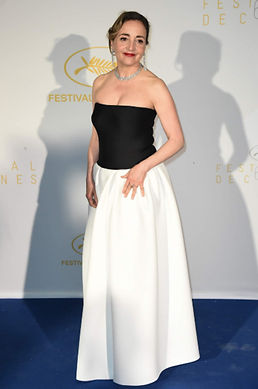 robe emita churlaud dominique blanc festival de cannes paris collection