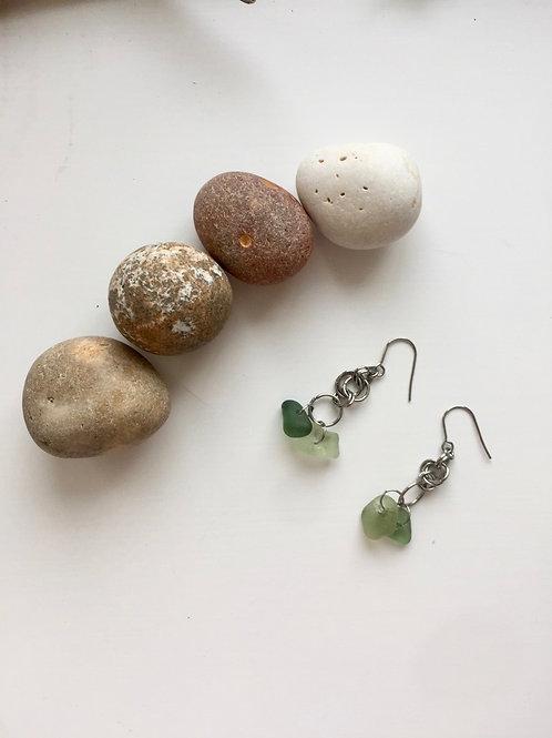 Limey - Double Dangle Earrings