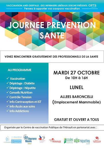 JOURN2E PREVENTION SANTE LUNEL