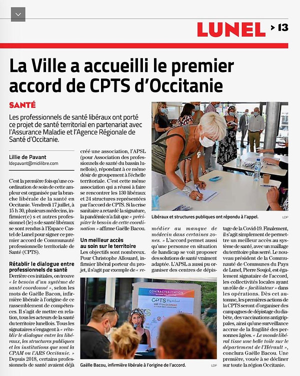 CPTS LUNEL