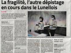 MIDI LIBRE : ARTICLE SUR L'UNITÉ MOBILE FRAGILITÉ