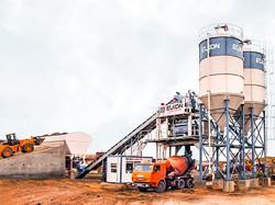 Бетонный завод в Александрове