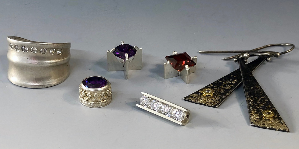 Handmade Settings for Faceted Stones - February 19-23