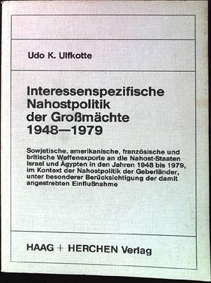 1984 Interessensspezifische Nahostpoliti