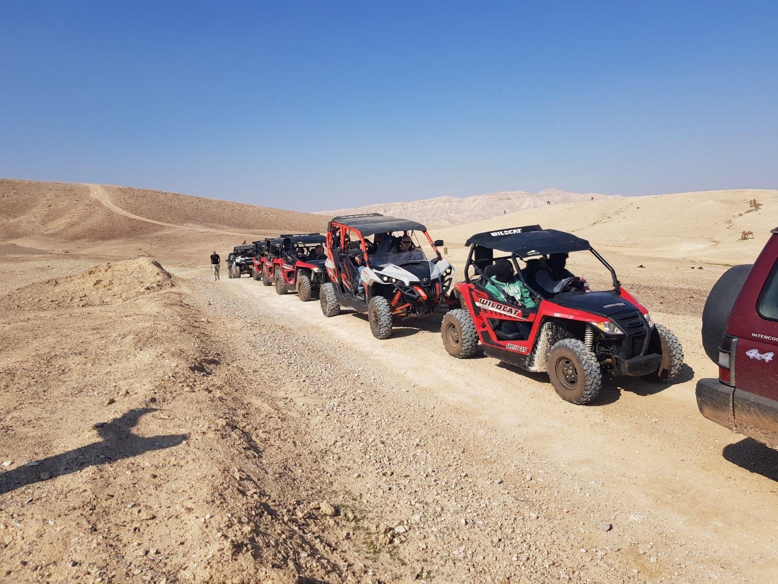 jerusalem atv @ judean desert