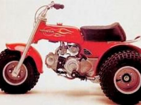 ATV? What is it? What started out as a hit in 1970, America, was a 3-wheeled ATC (all terrain cycle)