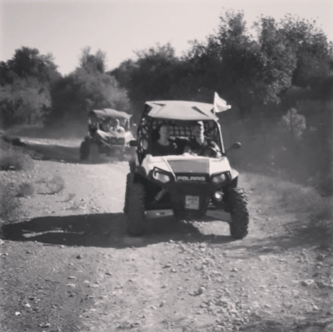 polaris RZR - Kfira trail