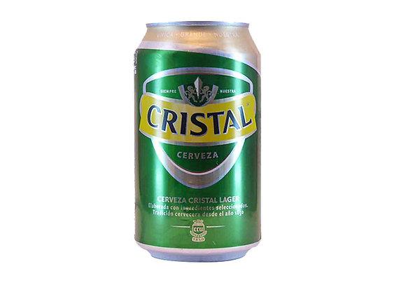 Cerveza CRISTAL LATA 350cc