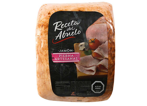 Jamón Pierna Artesanal RECETA DEL ABUELO 250 GRS