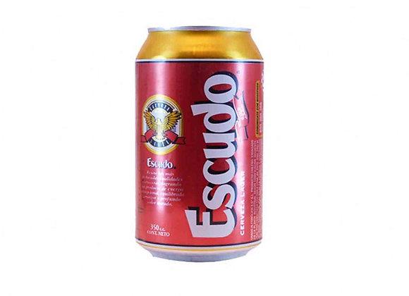 Cerveza Escudo Lata 350 cc