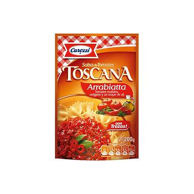 Salsa de tomate TOSCANA  ARRABBIATA 200 GR.