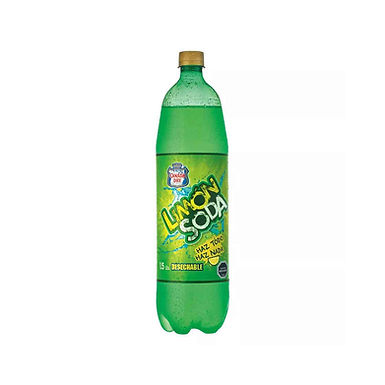 Bebida LIMÓN SODA 1.5 lts