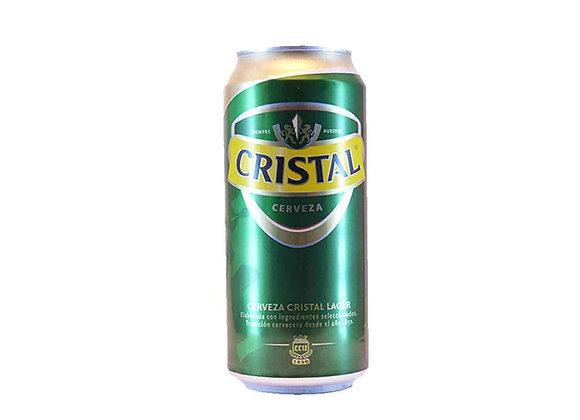 Cerveza CRISTAL Lata 470 cc