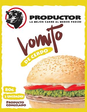 Lomito Cerdo Productor Sachet 80 grs.