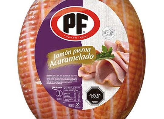 Jamón Pierna Acaramelado PF laminado 250 grs
