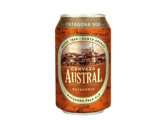 Cerveza AUSTRAL PATAGONIA LATA 350CC