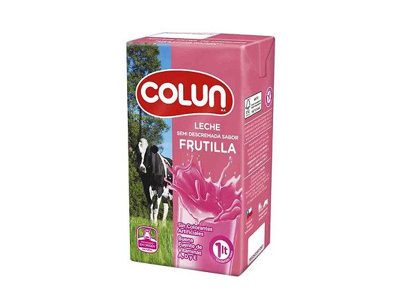 Leche Colun FRUTILLA 1 LT