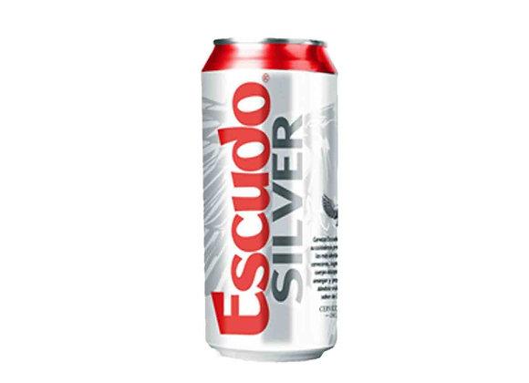 Cerveza ESCUDO SILVER Lata 470 cc