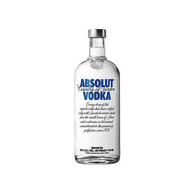 VODKA ABSOLUT BLUE 40°