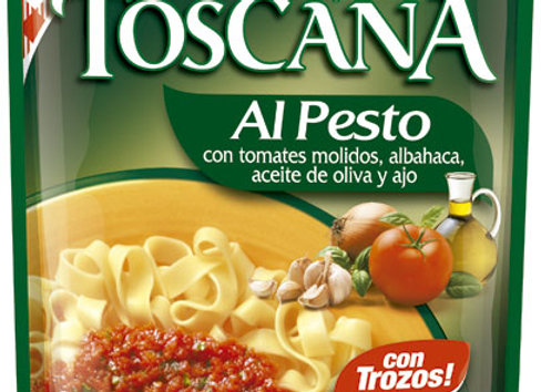 Salsa de tomate Toscana Al pesto