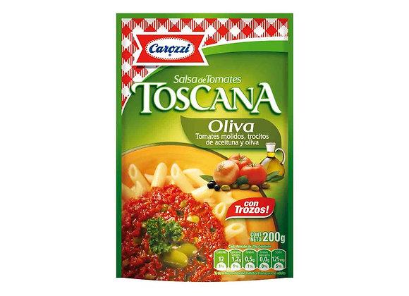 Salsa de tomate TOSCANA OLIVA 200 GR.