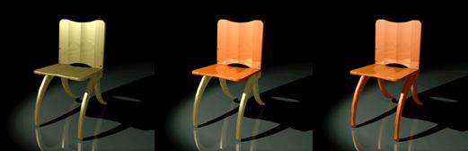 Custom KD Chair