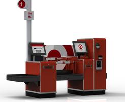 Target Self Service Check-out Lane