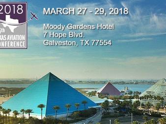 36th Annual Texas Aviation Conference in Galveston!