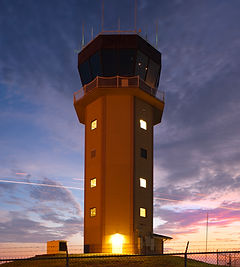 KGLS Air Traffic Control Tower