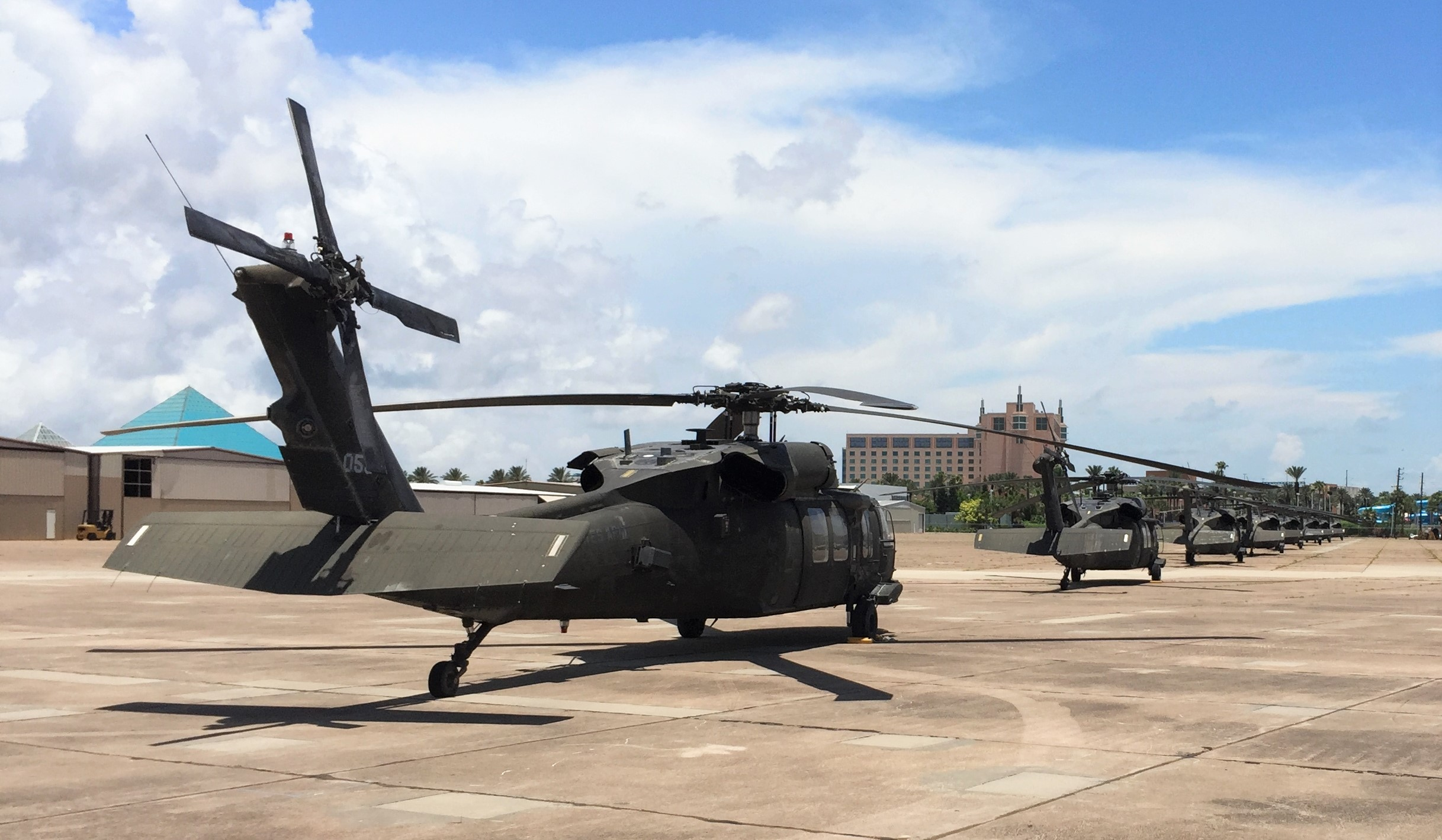 Army Blackhawk Helicopters