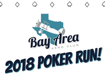 Bay Area Aero Club's 2nd Annual Poker Run!