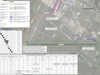 Scholes Airport Begins Airfield Pavement Projects