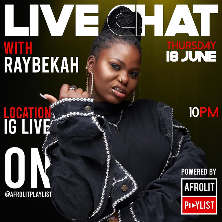 LIVE CHAT WITH RAYBEKAH