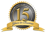 Over 15 years of excellence. We're here to help!