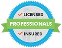 A minimum of 9 years of experince for each technician as well as state licensed and insured.