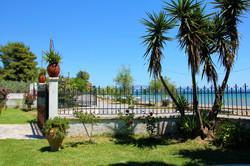 Amarynthos Beachfront Vacation House wit