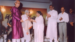 CD Release by Lata Mangeshkar ji