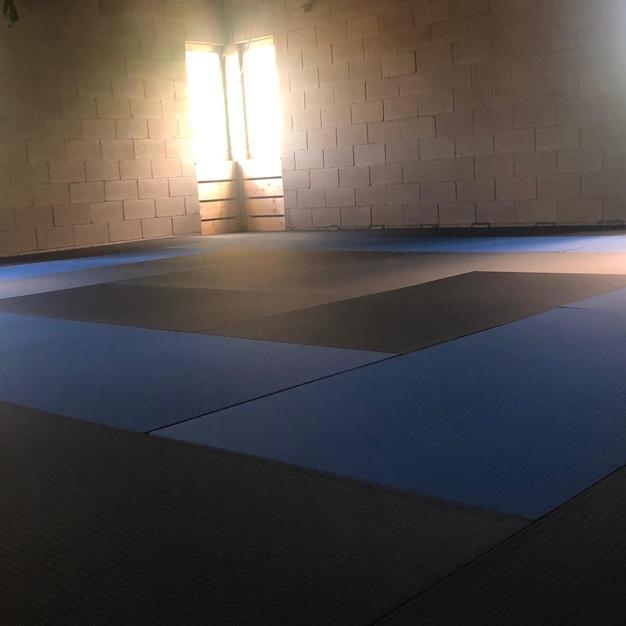 Sun up on the mats
