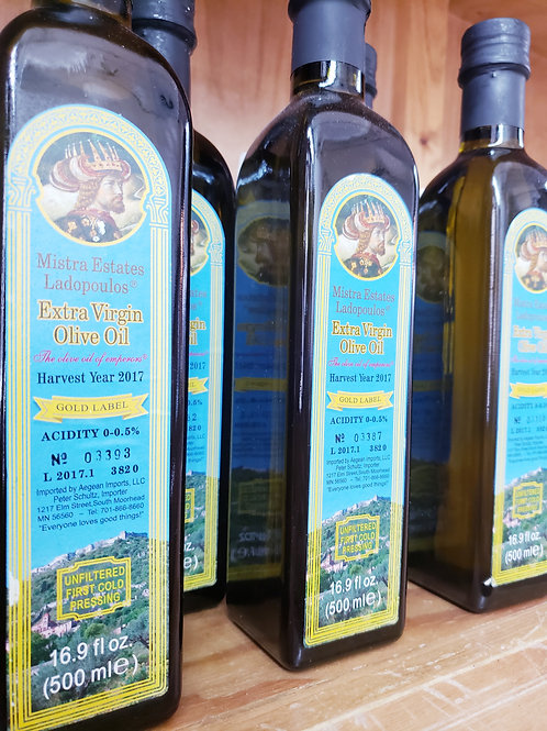 Better-than-Organic Greek Extra Virgin Olive Oil