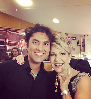 Meeting the sweetest _joycedidonato back