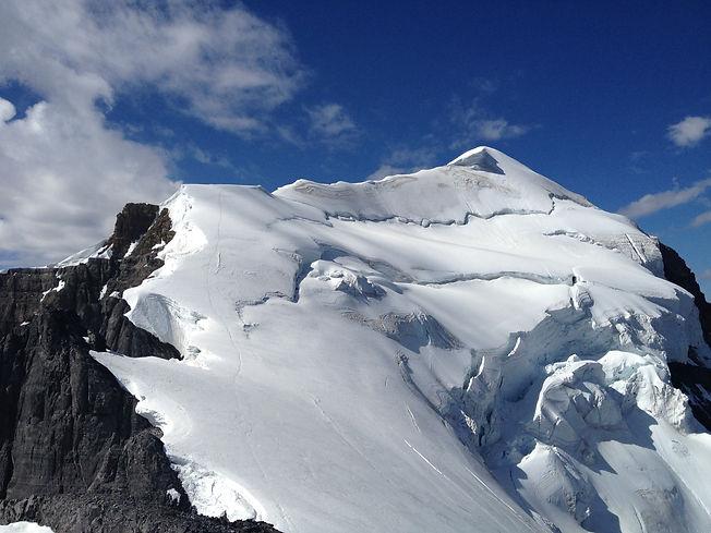 Mount Temple Canadian Rockies mountaineering