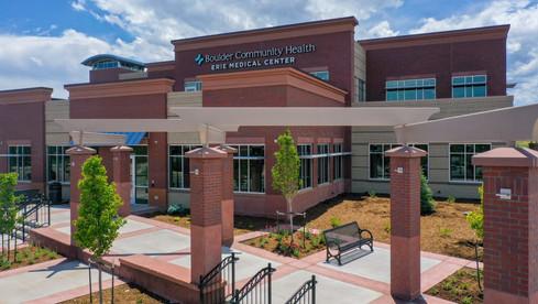Erie Medical Center Main Entrance